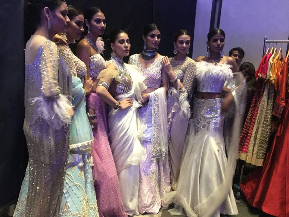 INIFD Gurgaon Students @ Various Fashion Shows